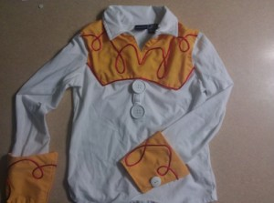 jessie shirt completed