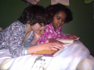 Kids and a Book